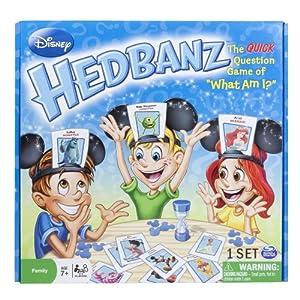 Spin Master Games Disney Hedbanz Board Game