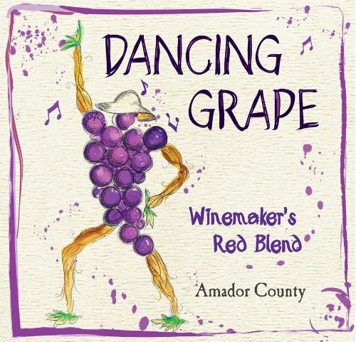 Nv Dancing Grape Winemakers Amador County Red Blend 750 Ml