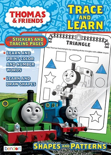 Thomas and Friends Trace and Learn Reward Sticker and Coloring Book