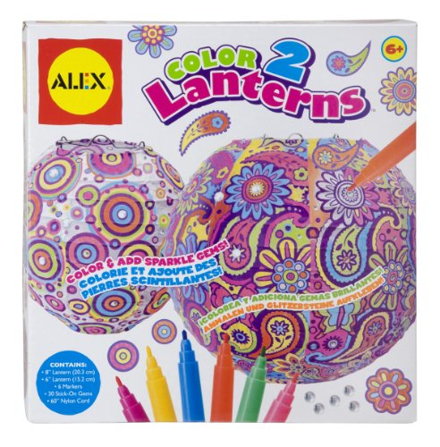 ALEX Toys Craft Color 2 Lanterns - 1