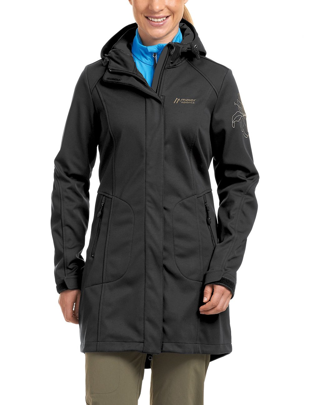 maier sports Damen Softshell Mantel Rigel günstig kaufen