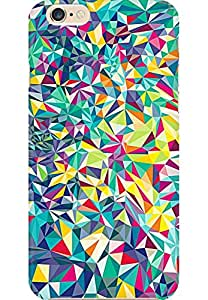 AMEZ designer printed 3d premium high quality back case cover for Apple iPhone 6 (abstract shapes)