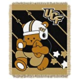 NCAA Central Florida Golden Knights Fullback Woven Jacquard Baby Throw Blanket, 36x46-Inch
