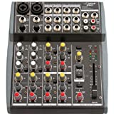 Pyle-Pro PEXM801 10 Channel Balanced Studio Grade IMP Audio Mixer with Pre-Amp