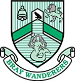 Bray Wanderers Ireland Soccer Football Sticker 12X12cm