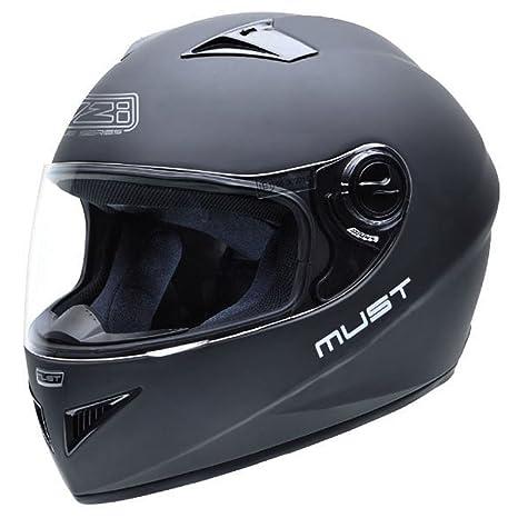 NZI 150197G093 Must Matt Black, Casque de Moto, Noir, Taille XL