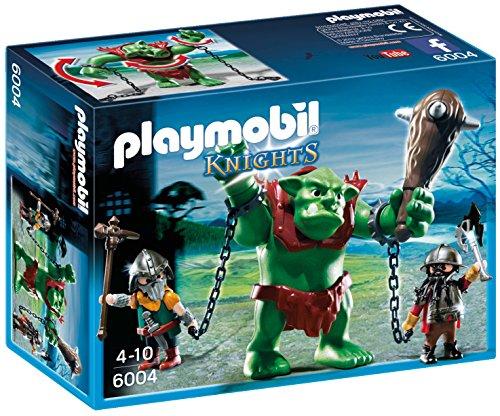 <p>Playmobil Caballeros - Troll gigante con luchadores (6004)<br/><br/> - Juguete educativo que fomenta el juego simbólico</p>