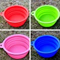 Pet Leso Dogs Cats Travel Bowl Portable Bowl Water Feeder Bowl