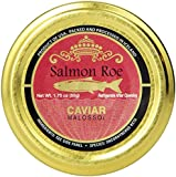 Plaza Premium Amazon Quality Salmon Caviar, 1.75 Ounce