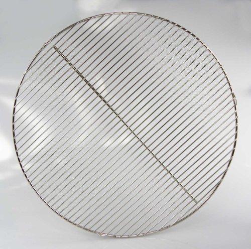 edelstahl grillrost f r 57cm kugelgrill 3 aufh nge sen 55 56 57 weber geeignet 4mm. Black Bedroom Furniture Sets. Home Design Ideas