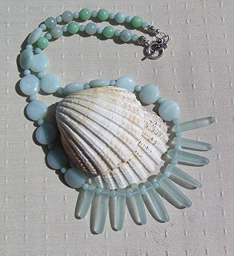 gemstone-statement-fan-necklace-green-amazonite-aqua-green-sea-glass-mountain-fresh