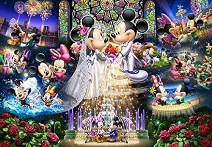 500Piece Jigsaw Puzzle Disney eternal vow wedding dream 35x49cm