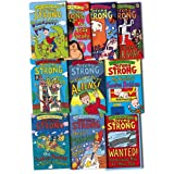 Jeremy Strong Collection 10 Books Set Pack RRP: �60.43 (Laugh Your Socks Off)by Jeremy Strong