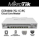 Mikrotik Cloud Core Router CCR1009-7G-1C-PC Network Router PoE Input Gigabit Ethernet Port SFP Support 8Gbps