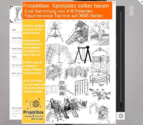 spielplatz selber bauen deine projektbox inkl 416 original patenten bringt dich mit spa ans. Black Bedroom Furniture Sets. Home Design Ideas