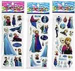 6 Frozen Sticker Sheets plus one beau...