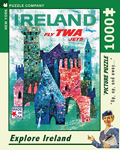 New York Puzzle Company - American Airlines Ireland - 1000 Piece Jigsaw Puzzle (New York Puzzle Company 1000 compare prices)