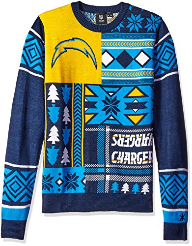 NFL San Diego Chargers Ugly Sweater