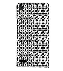 EPICCASE card decks Mobile Back Case Cover For Huawei Ascend P6 (Designer Case)