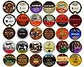 30-count Dark Roast Coffee Single Serve Cups for Keurig K Cups Brewers Variety Pack Sampler