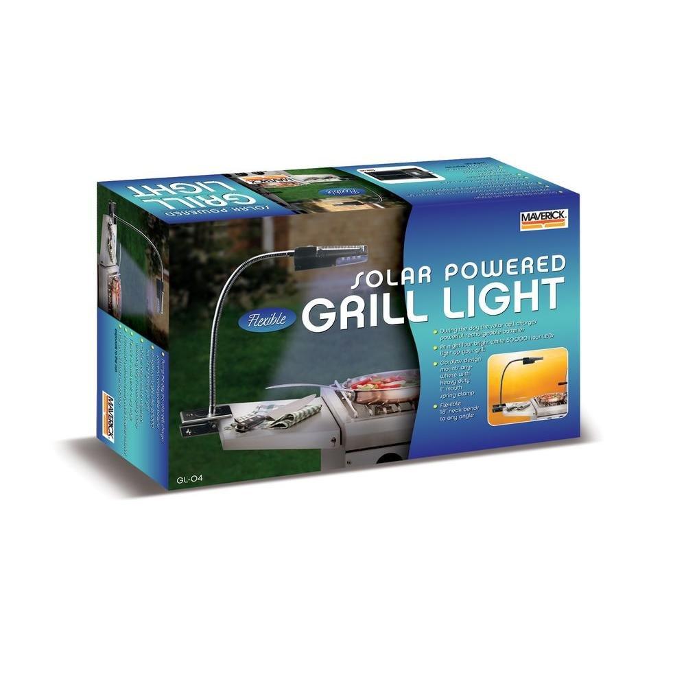 Solar LED Grill Light