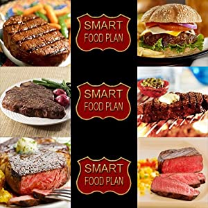 FREE EXPEDITED SHIPPING 2-3 DAYS 6 Month Gift Plan for Steaks by Smart Food Plan