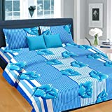 Cortina Cotton Double Bedsheet with 2 Pillow Cover (PDB-004-A)