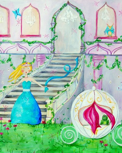 Cici Art Factory Wall Art, Night at the Ball Blonde, Small
