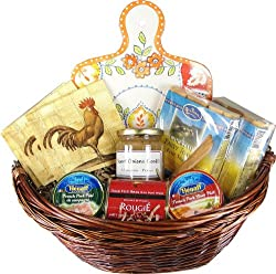 Gourmet Pate and Chutneys French Luxury Gift Basket