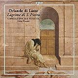 ラッスス(ラッソ):マドリガル「聖ペテロの涙」 (Orlando di Lasso:Lagrime di S.Pietro)