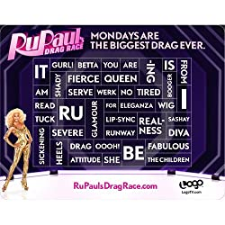 RuPaul's Drag Race: Word Magnet