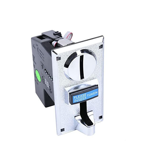 Hangang 6 Kinds Different Coins Selector Acceptor for Arcade