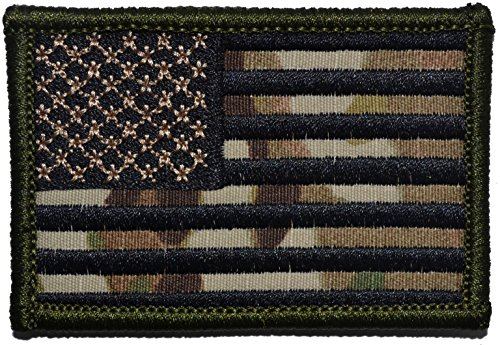 Multicam-United-States-USA-Flag-2×3-Military-Patch-Morale-Patch-Forward-Facing-with-Black-Stripes
