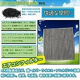 (アウト-エムピー) AUTO-MP 活性炭入り&特殊3層構造 日産 ニッサン E12 ノート エアコンフィルター マーチ K13 マーチ エアフィルター 純正品番:AY684-NS018
