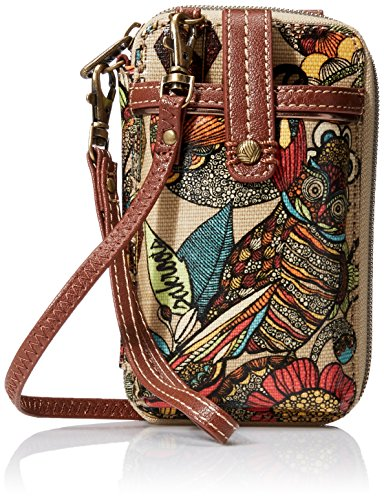 Sakroots Artist Circle Smartphone Wristlet, Camel Spirit Desert, One Size