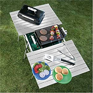 "The ""OASIS"" BBQ Roll-Up Top Table-High Quality Product-3 Years Warranty"