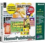 Microsoft Home Publishing Premium 2000 [Old Version]