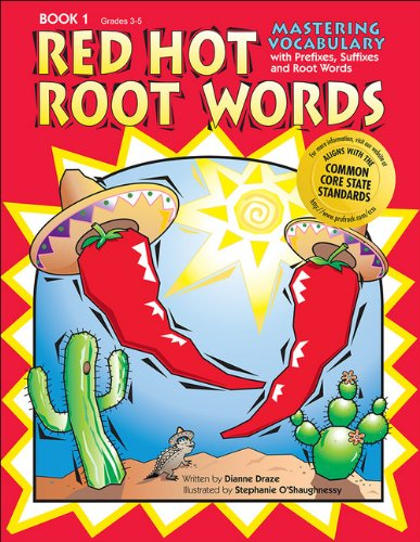 Red Hot Root Words Book 1: Mastering Vocabulary with Prefixes, Suffixes and Root Words (Red Words compare prices)