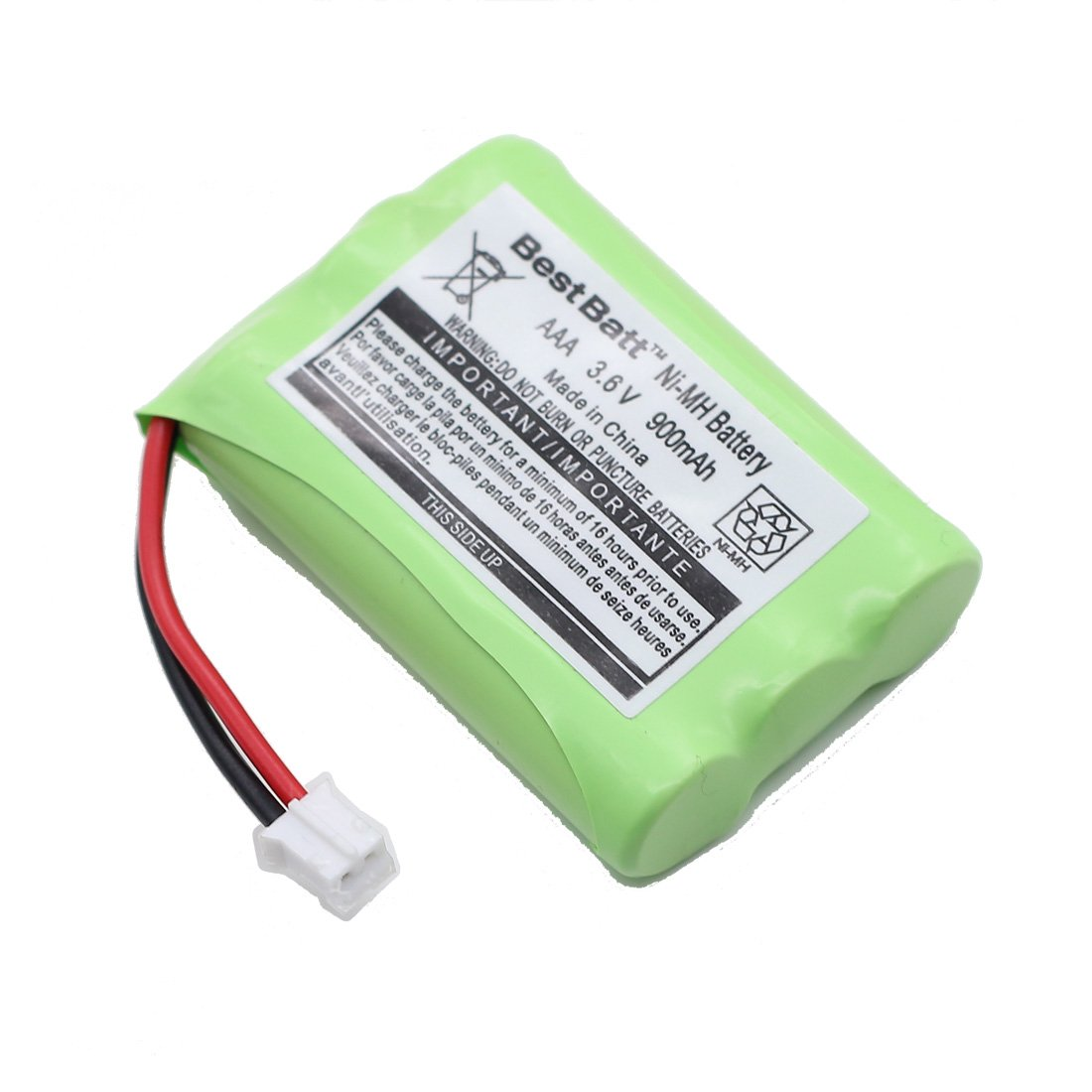 BestBatt 900mAh Replacement Battery for Motorola MBP27T, MBP33, MBP33S, MBP33PU, MBP36, MBP36S, MBP36PU Baby Monitors