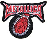 METALLICA ST.ANGER Metal Rock Punk Music Band Logo Jacket T shirt Patch Sew Iron on Embroidered Badge Sign Costum