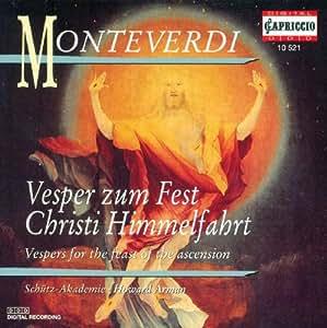 Monteverdi C.: Vespers for Th