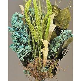 Dried Blue Hydrangea Bouquet
