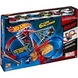 Hot Wheels the Amazing Spider-man Speed Circuit Showdown with 6 Cars