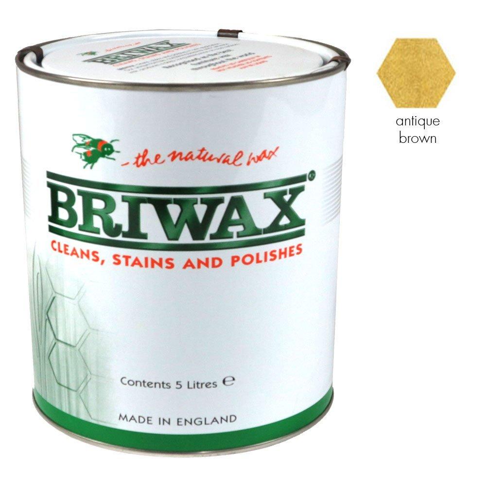 BRIWAX ORIGINAL fast drying Wax Polish (Antique Brown, 20 Litre)  BaumarktKundenbewertung und weitere Informationen