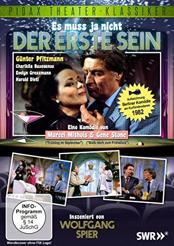 Es muss ja nicht der erste sein - Komödie von Wolfgang Spier (Pidax Theater-Klassiker)