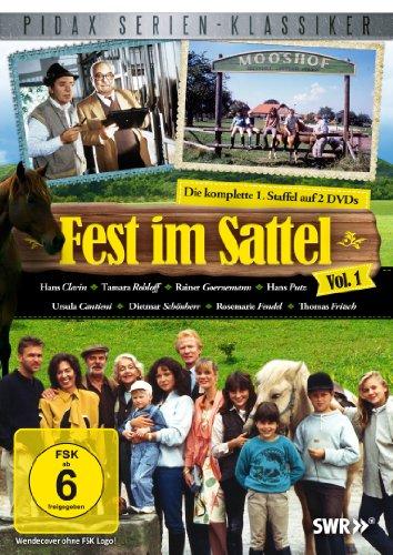 Fest im Sattel, Vol.1 - Die komplette 1. Staffel (Pidax Serien-Klassiker) [2 DVDs]