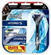 Wilkinson Sword Hydro 5 Vorteilspack, 5 Klingen plus Rasierer, Assassin's Creed Edition