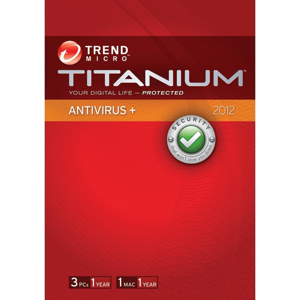 Trend Micro Titanium Antivirus + 2012 - 3 Users