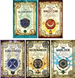 Secrets of the Immortal Nicholas Flamel Series Collection Set 1-5 (Large Trade Paperback, #1 The Alchemyst, #2 The Magician, #3 The Sorceress, #4 The Necromancer, #5 The Warlock)