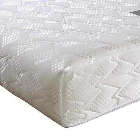 Happy Beds Ultimate Ortho Extra Firm Reflex Foam Orthopädische Matratze, verschiedene Größen, Weiß, 180 x 200 cm
